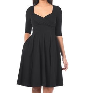 Eshakti Sweetheart Fit and Flare Dress 3X